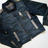 Джинсовая мужская куртка S, M. Супер цена