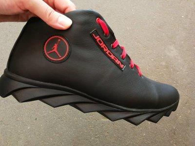eedf6f4d Jordan зимние кроссовки Мужские кроссовки натуральная кожа обувь мех ...