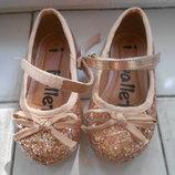 Туфли балетки нарядные