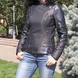 Женская куртка-косуха. Эксклюзив Натуральная кожа.