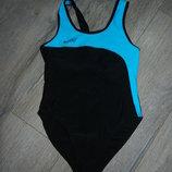 Swind,Франция Черный купальник для плавания,для бассейна Новый 140-146 см