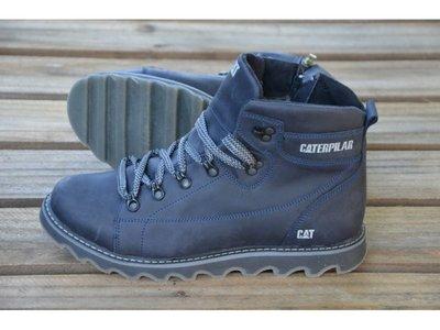 Мужские кожаные зимние ботинки CAT Expensive Submarine