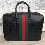 Сумка Bussines Bag Gucci GG Supreme Web 15 Black