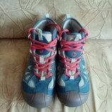 Мембранные кожаные демисезонные ботинки Merrell р.36