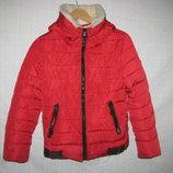 Куртка Kalvin Klein Италия Оригинал на рост 158-164 см. 12-14 лет.Зимняя. Новая.куртка на утеплителе