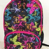 Яркая сумка портфель для девушек. Люкс качество. Женский Рюкзак с бабочками.