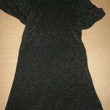 Трикотажное платье с люрексом Лав Некст 11л