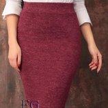 Ангоровая юбка
