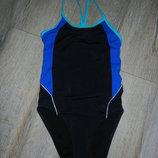 C&A,Германия черный купальник для плавания 158/164 см