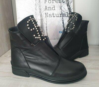 Ботинки зима кожа. Цена снижена