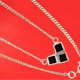 Цепочка ожерелье серебро 925 проба 3,88 грамма длина 38 см.
