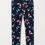 Треггинсы для девочки H&M бабочки