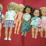 Цена за 7.Скидка кукла коллекционная винтажная гдр,германия,куколка винтажная большая