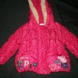 Красивая куртка George 9-12мес
