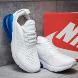 Кроссовки мужские Nike Air 270, белые, р. 40 - 45