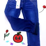 Качественные утепленные джинсы Польша 8 -16 лет