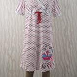 Ночная рубашка для беременных и кормящих мам размеры 40-54