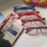 Детские яркие оправы, очки - установка любых линз