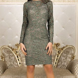 12 красивое платье