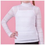 Комплект для девочки майка блуза zironka рост 146, 152, 158, 164
