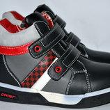 Демисезонные ботинки для мальчиков kellaifeng klf 27-32