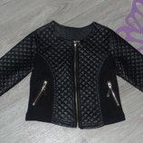 Моднявая куртка-пиджак 4-6л в идеальном сост