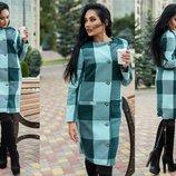 Пальто Ткань кашемир Пальто на подкладке Размер С-М М-Л
