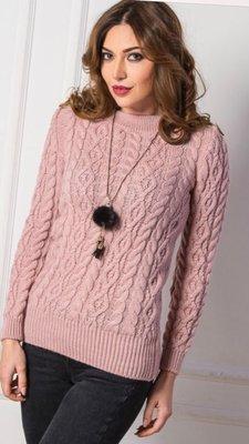 теплые вязаные свитера косами 5 цветов 42 48р италия 360 грн