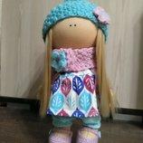 Кукла ручной работы, интерьерная кукла Коннэ