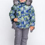 Зимний комбинезон для мальчика KM-1 на рост 92-122