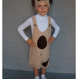 Карнавальный костюм Собачка 1 Беж