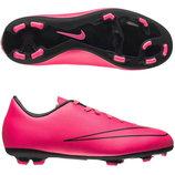 Бутсы Nike JR MERCURIAL VICTORY V розовый детские 34 размер 22см