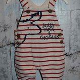 Ромпер 50-56 см, ромпер на новорождённого мальчика, полукомбинезон на мальчика 50-56 см, комбинезон