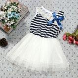 Нарядное детское платье 1-3 года. Платье детское