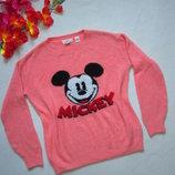 Тёплый свитер Микки Маус Disney H&M.
