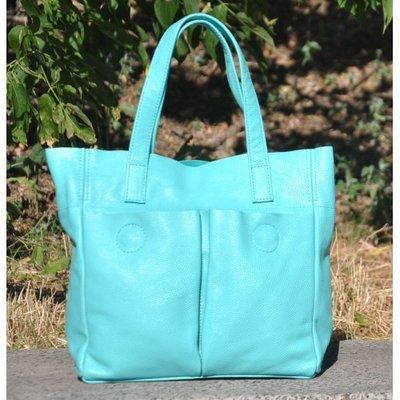 6e474973dc5d Натуральная кожа Кожаная женская сумка Палермо бирюзовая: 1279 грн ...