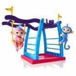 Игровой набор Fingerlings с двумя обезьянками Лив и Симона Wow Wee Playgrou