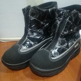 Термо ботинки термики Эльфей Украина 26 размер для девочки, зимние сапоги для девочки, зимние дутики