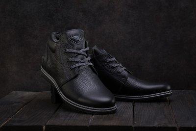 Мужские кожаные зимние ботинки TIOW-M1
