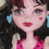 шикарная кукла Монстер Хай Дракулаура Draculaura Monster High Mattel Сша оригинал клеймо 27 см