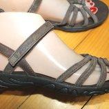 38-39 разм. Фирменные сандалии Teva. Замша. Оригинал длина по внутренней стельке от края и до края
