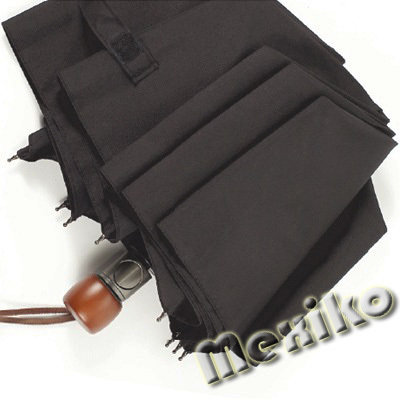 Мужской зонт Zest полуавтомат, прямая деревянная ручка
