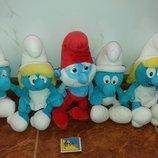 Мягкие игрушки Смурфы Смурфики.дисней Disney