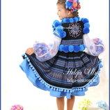 Український стрій з 6 частин два подарунка для дівчинки