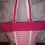 Шикарная тканевая сумка в морском стиле Carpisa