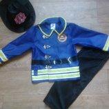 Карнавальный костюм пожарника мальчику 3-4 года