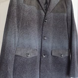 Удлиненный шикарный стильный мужской пиджак Time of Style Размер XL