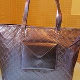 Шикарная Серебряная сумка