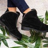 Демисезонные ботинки.Натуральная кожа,замш.