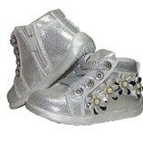 Детская обувь. Демисезонные ботинки для девочек Clibee Р-203, р.18-23